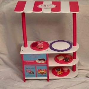 """Emily Rose Child's Pastry Stand for 18"""" Dolls"""